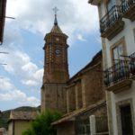 Calle tras la iglesia