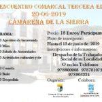 Encuentro Comarcal de la Tercera Edad en Camarena el 20 de junio de 2019