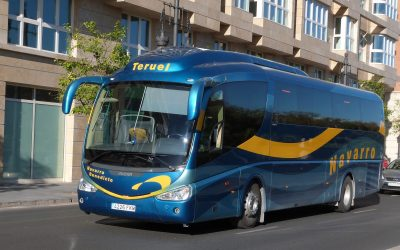 Cambio en el horario de autobús a Teruel