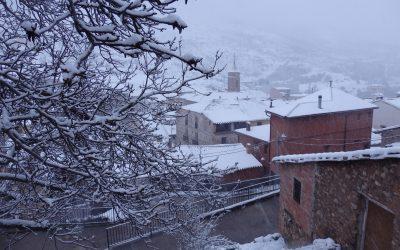 Vuelve la nieve y la lluvia